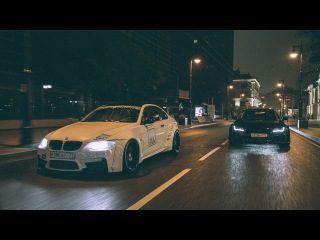 Widebodу on the Streets. Stanced Audi A7 & BMW E92 335i // Go Fast TV