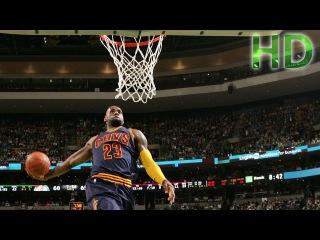 LeBron James Dunk vs Philadelphia 76ers 2016 HD
