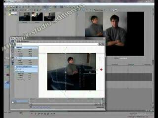 Создание разделенного экрана в программе Sony Vegas