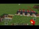 Самый крутой Механизм-Ловушка в Minecraft PE 0.15.0 0.16.0 0.16.1 0.16.2 0.17.0 0.17.1