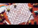 Вязание Крючком - Салфетка Квадратная - 2017 / Crochet - Square Napkin / quadratische Serviette