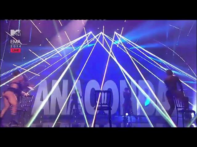 Interval act Nicki Minaj Anaconda LSC 14