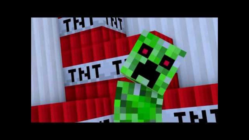 MINECRAFT. Зелёный няша крипер