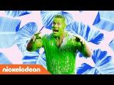 John Cena Gets Slimed Kids' Choice Awards Music Video Nick
