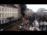 У Львові пікетують Апеляційний суд - горять шини (03.02.17)