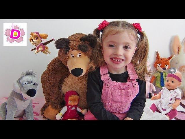 Куклы Пупсики Беби Бон и все любимые игрушки Доминики Baby Born doll and all funny toys