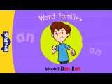 Word Families 3: Dan Ran | Level 1 | By Little Fox