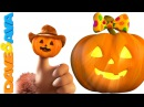 Finger Family Halloween Song Five Little Pumpkins Halloween Song for Kids from Dave and Ava