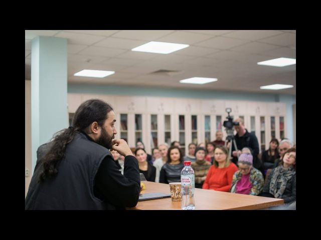 Схиархимандрит Серафим Бит-Хариби - Встреча и лекция в Москве