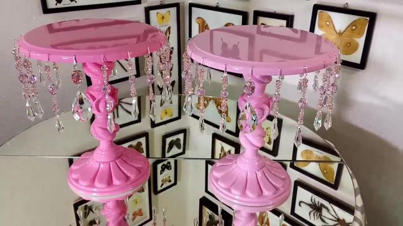 СофиШерон Кристалл M в розовом Посуда для Candy bar