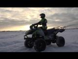 Перевоплощение Thunder Tiger KAISER XS в квадроцикл