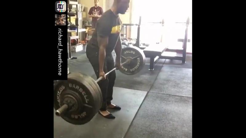 Ричард Хоторн - тяга 240 кг