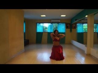 Lely Najmah Belly Dancer - Brazil. Drum Solo 1474