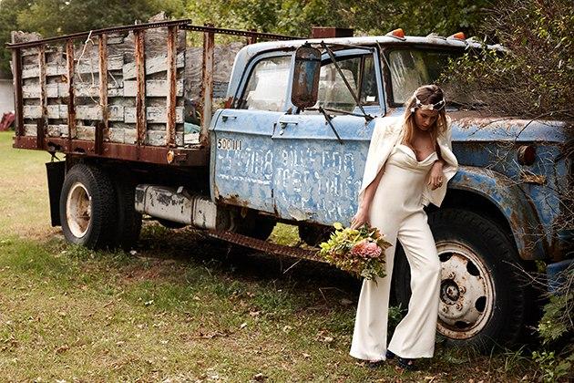 Осенняя коллекция свадебных платьев от Саванны Миллер (6 фото)