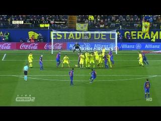 Вильяреал 1:1 Барселона   Гол Месси