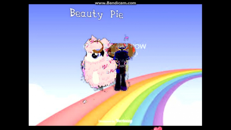 Pink fluffy unicorns dancing on rainbow~ Beauty Pie and Arial Black parody