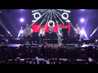 160809 BTS - Young Forever & Fire & Save ME & Cypher pt.3 & Dope @ KCON 2016 LA