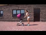 Фитнес в декрете. Тренировка с коляской׃ Полезно маме - Весело ребенку