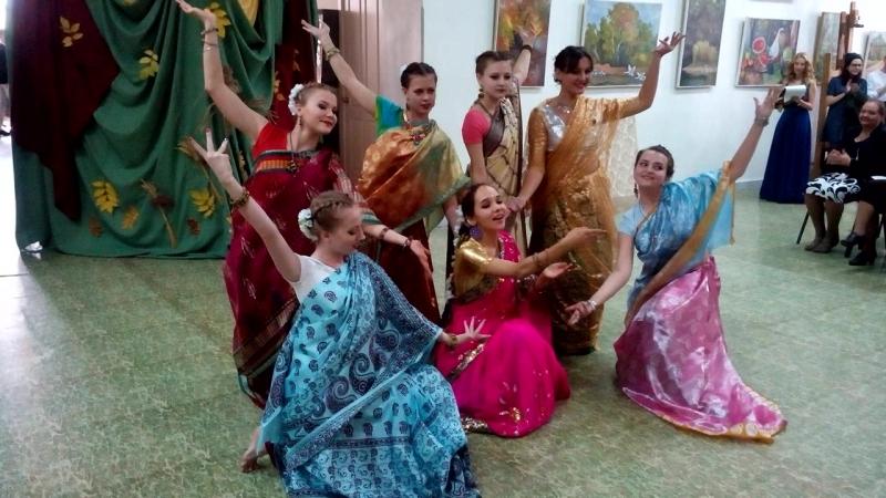 Индийский танец СХУ