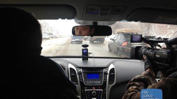 В Самаре скрытые патрули ГИБДД помогли оштрафовать более 100 водителей