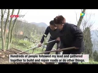 82 летний старик пожертвовал пол жизни на постройку водяного канала для своей деревни