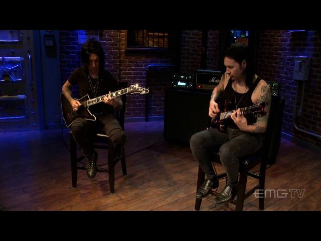 Black Veil Brides perform Wretched and Divine live on EMGtv