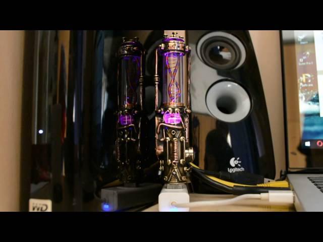 Steampunk flash drive . Motorized Molecule DNA Purple V5. 32 / 64 / 128gb USB 3.0