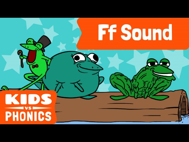 Ff | Fun Phonics | How to Read | Made by Kids vs Phonics