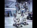 Испытание человекоподбоного робота в Южной Корее