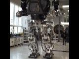 Испытание человекоподобного робота в Южной Корее