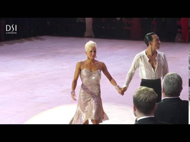2015 Blackpool Professional Latin - Michael Malitowski Joanna Leunis say Goodbye