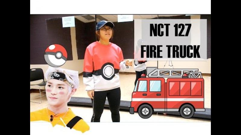NCT 127 소방차 Fire Truck Dance Tutorial   FULL w mirror [Charissahoo]