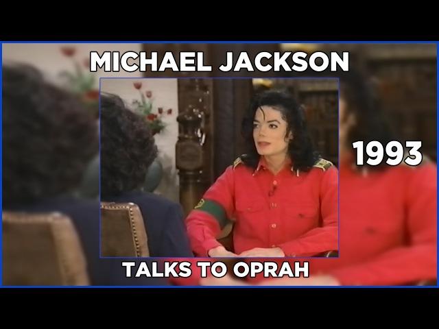 Michael Jackson | Talks to Oprah | 1993 | 720p | 60FPS