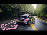 Racing a Rally Car on Public Roads in Portland, Oregon w/Tanner Foust   Donut Media