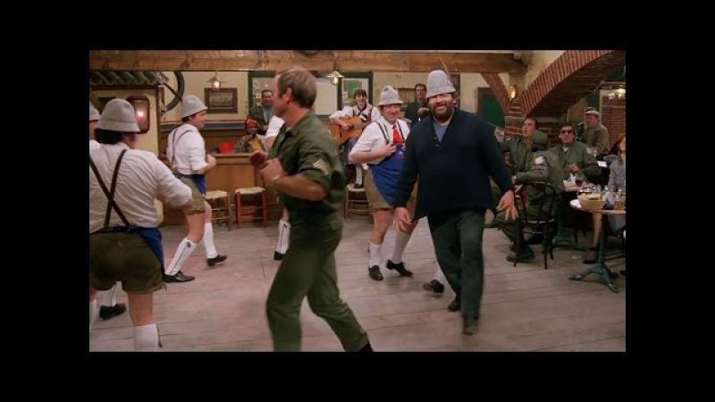 Bomber - Bud Spencer e il mitico ballo tirolese!!