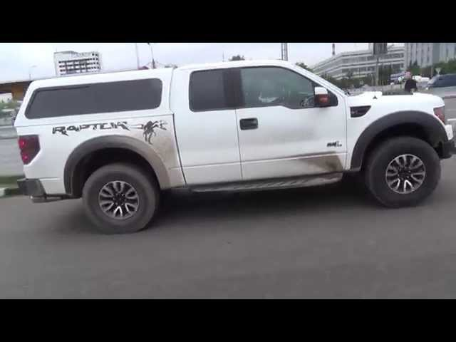 Тюнинг Ford F150 Raptor, тест драйв Форд Раптор