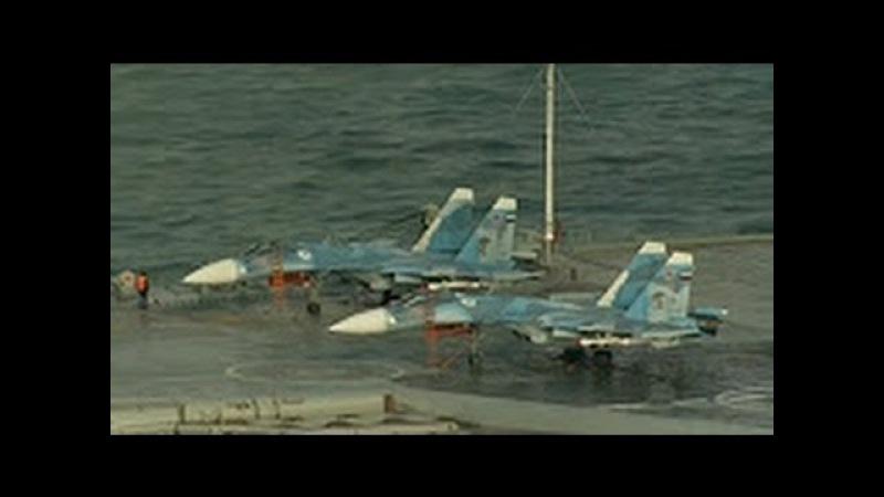 Admiral Kuznetsov. Флагманская авианосная эскадра РОССИИ Ох, смотри не промахнись, КУЗНЕ...