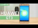 Huawei GT3 -  смартфон  с металлическим корпусом и датчиком отпечатков пальцев - Видео...