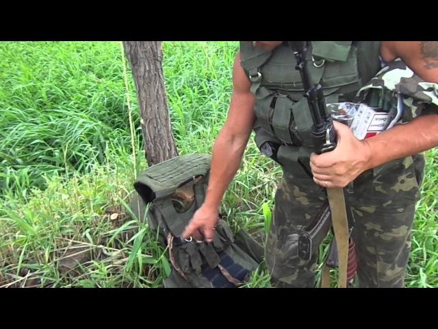 Бронежилет бойца Нацгвардии погибшего под Славянском