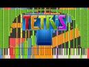 Black MIDI Synthesia Tetris Theme A Final Impossible Remix 90 000 notes ~ Kanade Tachibana