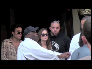 Ed Westwick, Leighton Meester and Blake Lively BTS Gossip Girl Paris [HD]