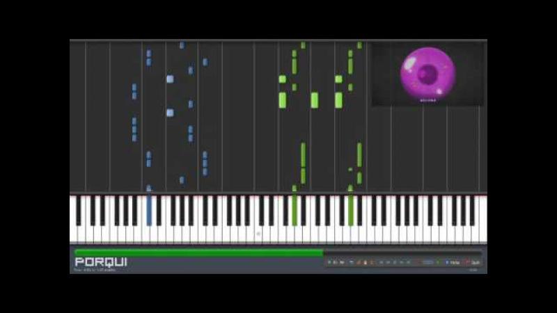 Fairy Tail Opening 22 - Ashita wo Narase (Synthesia)