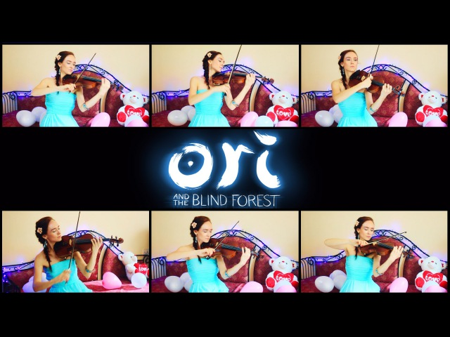 Ori and the blind forest - Main Theme (Anastasia Soina violin)