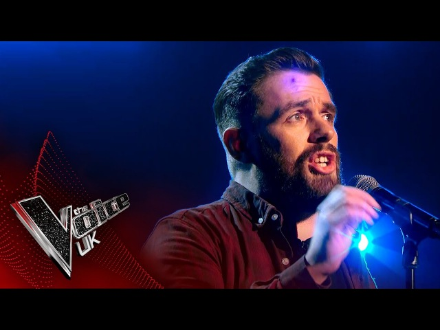 Craig Ward performs Always A Woman Blind Auditions 3 | The Voice UK 2017