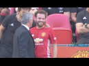 Juan Mata's reaction when he was substituted ● LEI vs MUN