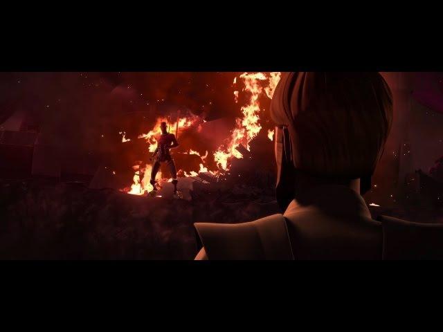 Star Wars Clone Wars Obi-Wan Kenobi Meets Darth Maul on Raydonia HD
