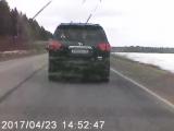 Авария на трассе Нефтекамск - Ижевск _ Фура в кювете.