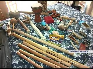 Житель Курагинского района коллекционирует редкие экзотические музыкальные инструменты народов мира