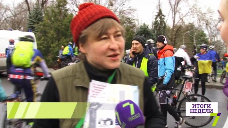 В одесской Велосотке приняли участие более 2000 человек