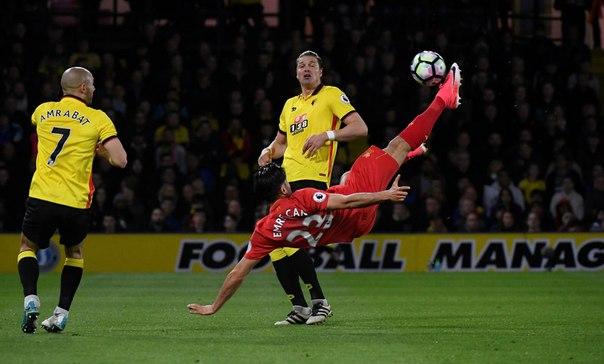 Футболист «Ливерпуля» назвал свой гол в ворота «Уотфорда»...